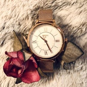 *Like New* FOSSIL Jacqueline Q Rose Gold Watch